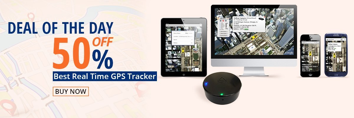 real time GPS tracker sale