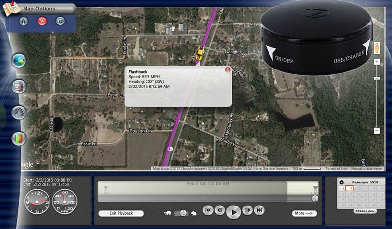 live GPS tracking